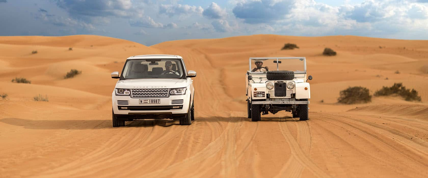 Luxury desert safari in the Dubai Desert Conservation Reserve