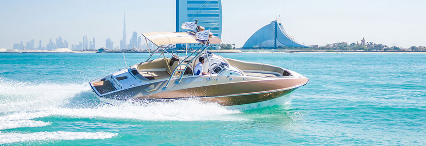 Private Boat Tour Dubai Marina & Palm Jumeirah