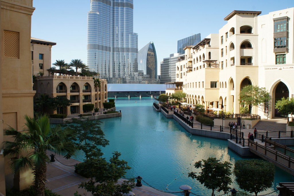 Souk al Bahar in Downtown Dubai