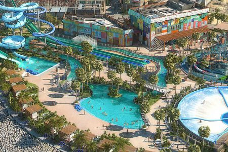 The Laguna Waterpark in Dubai