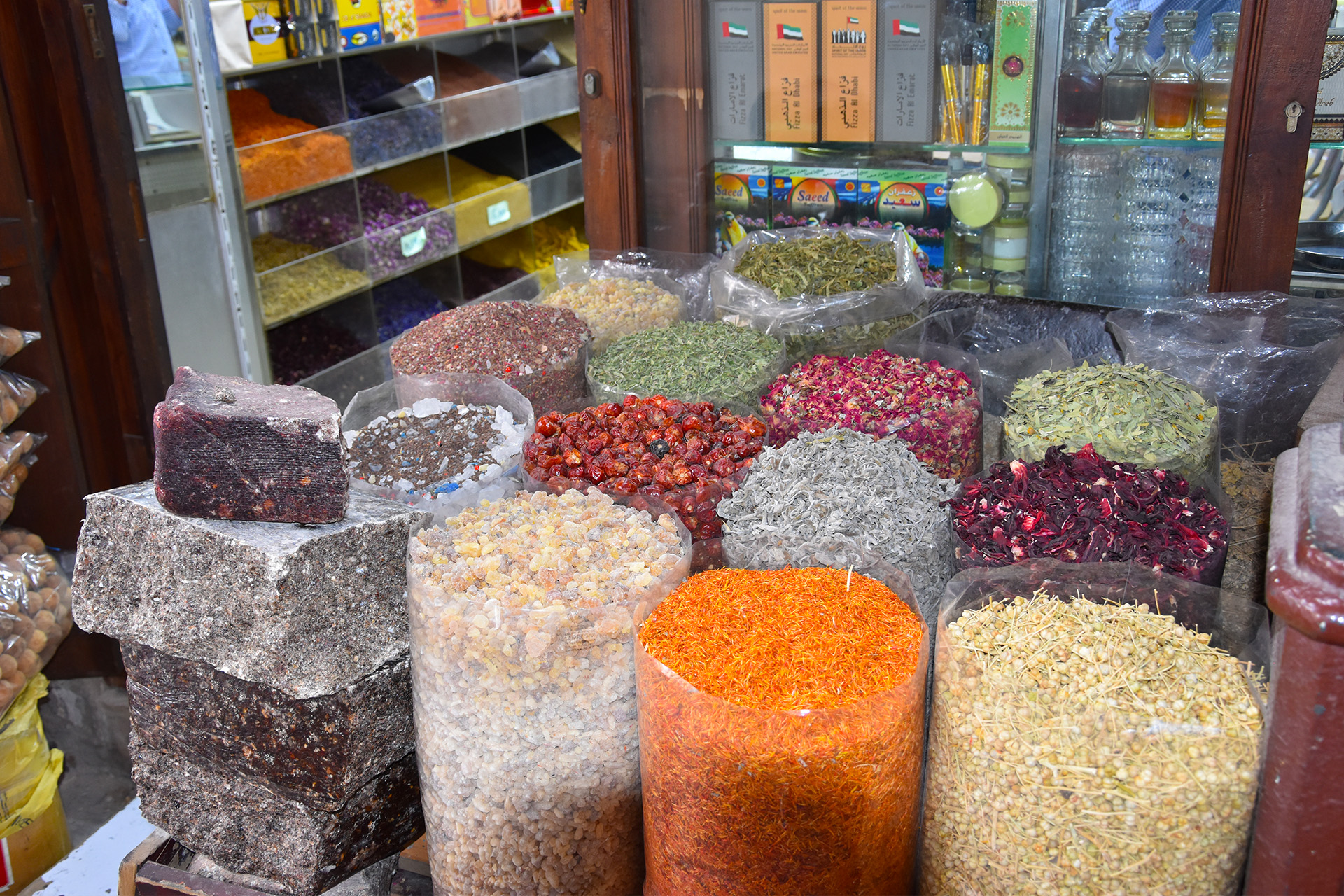 The Spice Souk in Dubai