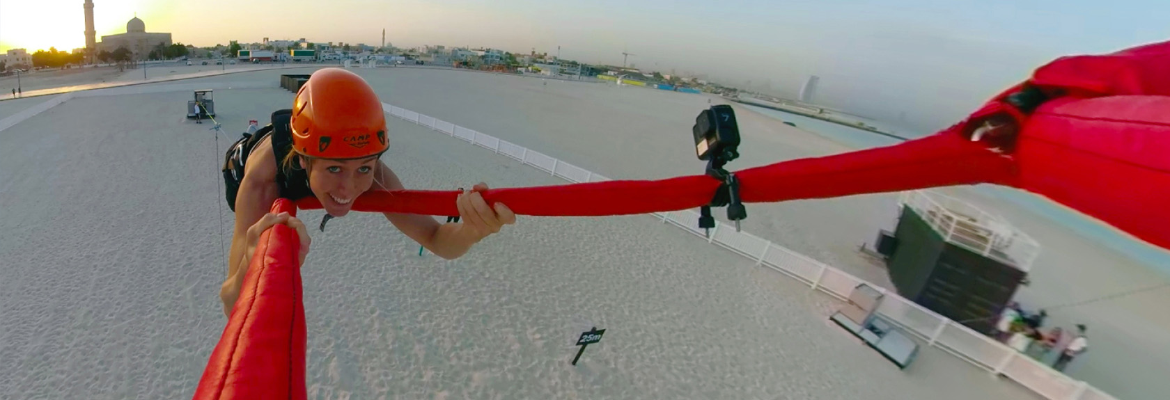 The XDubai slingshot (human catapult)