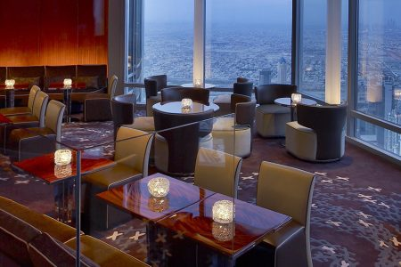 Dining in the Burj Khalifa