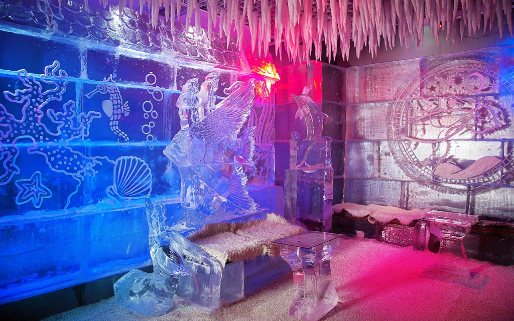 Dubai Chillout Ice Lounge