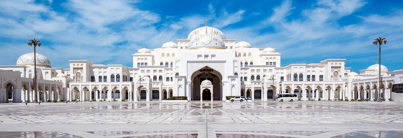The Qasr Al Watan presidential palace in Abu Dhabi