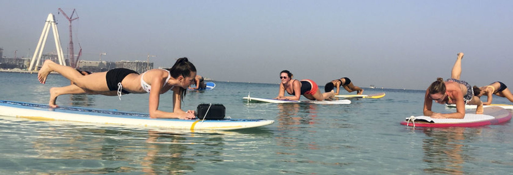 Stand-Up Paddling and kayak in Dubai