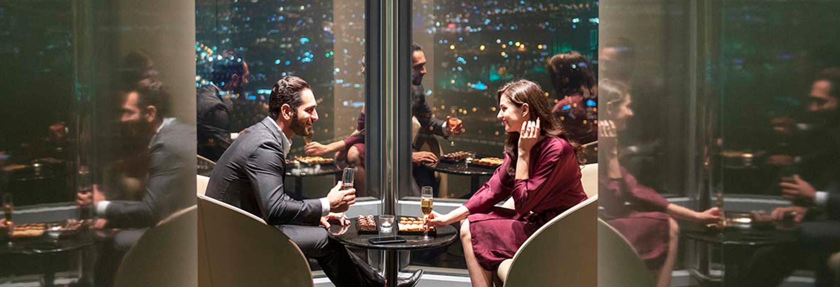 The Lounge Burj Khalifa – the highest lounge in the world