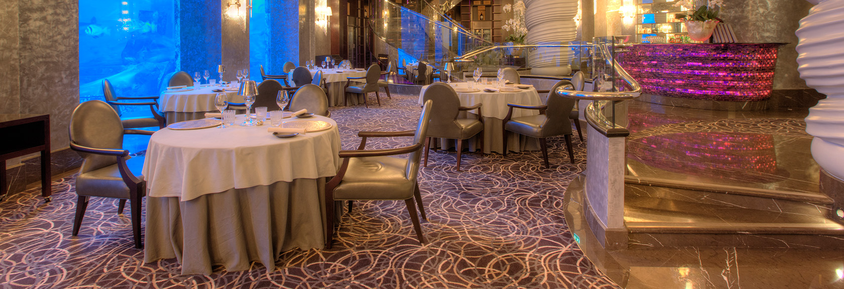 Lunch and dinner at Atlantis the Palm